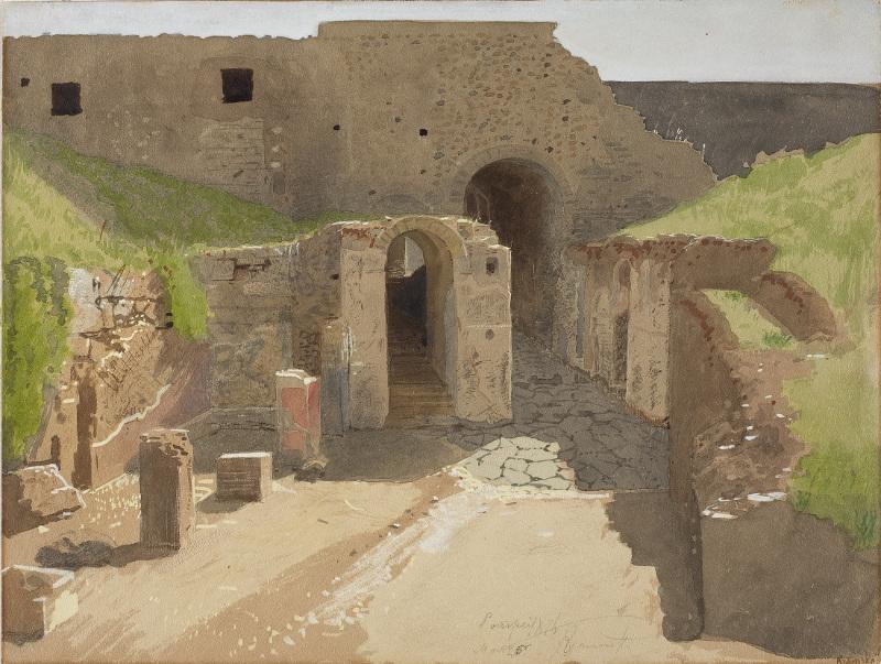 """Крамской И.Н. """"Помпея"""" 1876"""