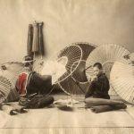 """Неизвестный автор """"Мастерская по изготовлению зонтов"""" 1880-1890-е"""