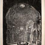 """Франческо Пиранези """"Вид Римских руин (Руины древнеримского храма)"""" Рубеж 18 и 19 веков"""