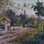 """Александр Куприн """"Пейзаж. Крым"""" 1930-е"""