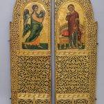 Царские врата. Первая половина XVI века