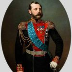 "И.А. Тюрин ""Портрет императора Александра II"" Вторая половина 1860-х"
