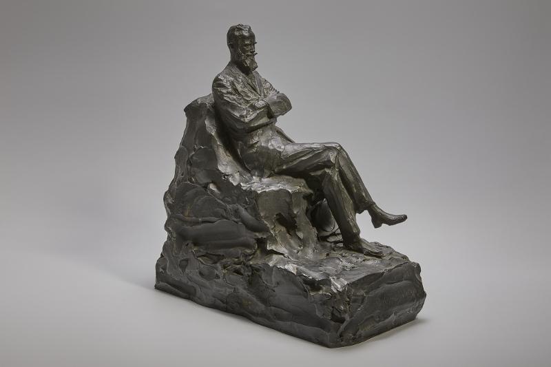 """П.П. Трубецкой """"Джордж Бернард Шоу"""" 1926"""
