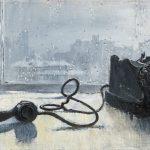 """Юрий Пименов """"Ожидание (Натюрморт """"Телефон на столе"""")"""" 1959"""