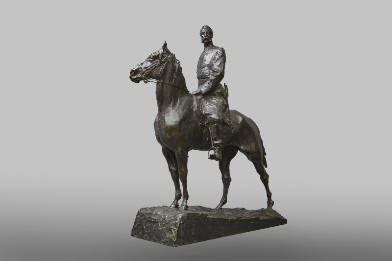 "П.П. Трубецкой ""Александр II. Проект памятника"" 1910"