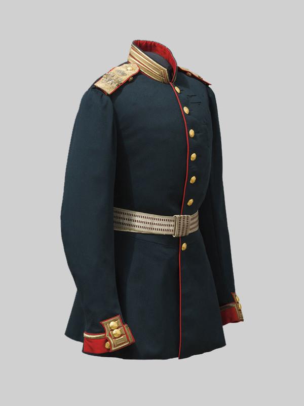 Мундир генерал-фельдмаршала по форме генералов, состоящих по гвардии. Принадлежал Александру II. Россия. 1878