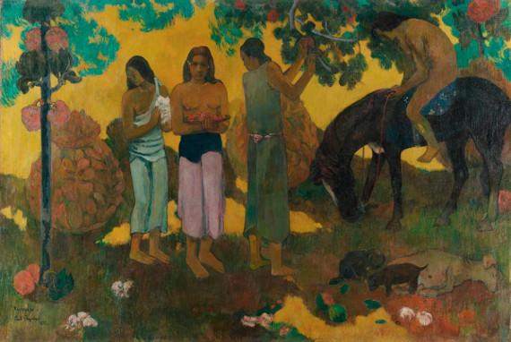 Поль Гоген «Ruperupe (О, Таити, чудесный край! Сбор плодов)» 1899
