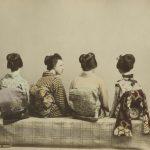 """Неизвестный автор """"Японские танцовщицы"""" 1880-1890-е"""
