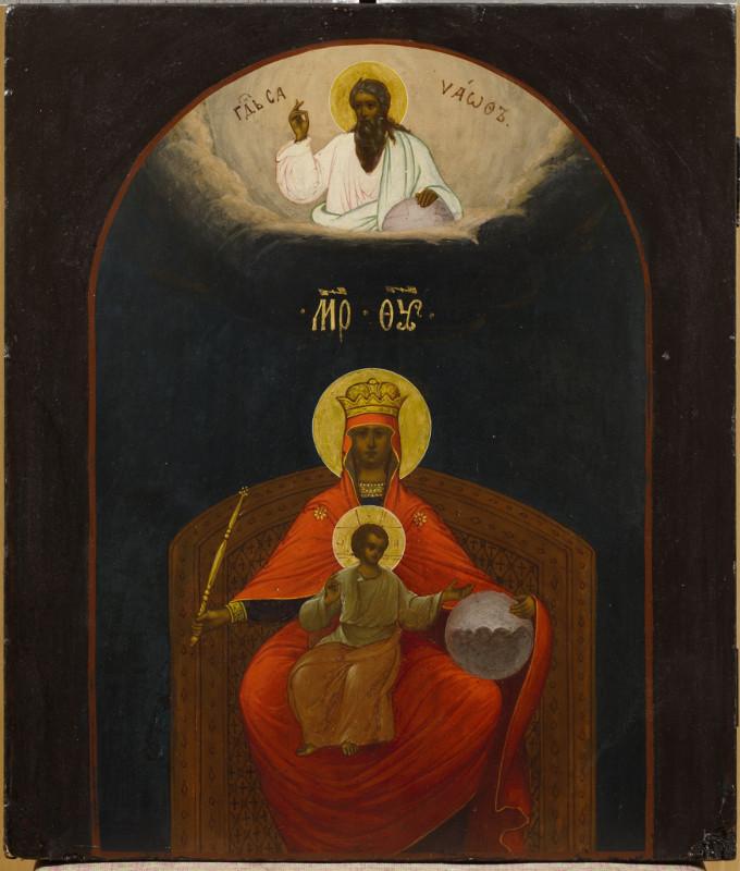 Богоматерь Державная. Начало XX века (после 1917 года)