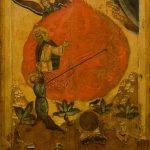 Огненное восхождение пророка Илии. Конец XVI века