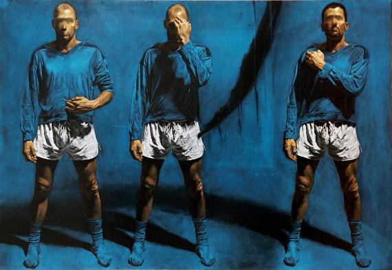 """Алекс Фолла """"Forza Azzurri"""" 2012 © Savina Gallery"""