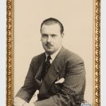 Фотография великого князя Владимира Кирилловича с его автографом. 1939