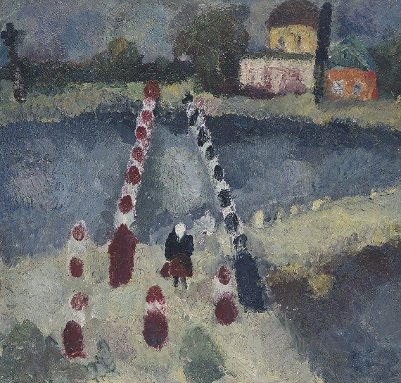 Екатерина Григорьева «Мост» 1968. Собрание Ю. Петухова
