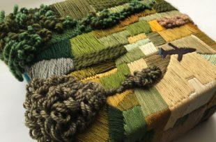 Остров Сокровищ. Мини-текстиль.