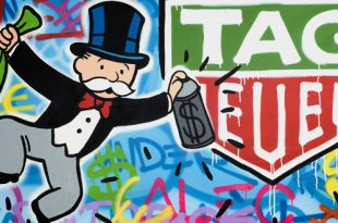 Alec Monopoly x TAG Heuer.