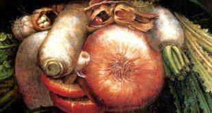 Джузеппе Арчимбольдо. Овощи и фрукты.