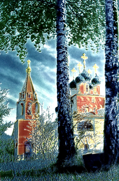 Николай Драчинский. Мультиконтуры Москвы.