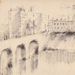 """Антонина Софронова """"Городской пейзаж. Москва"""" 1928"""
