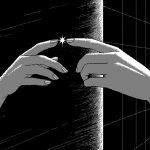 """Uno Moralez """"Из серии """"Синие зубы"""" 2017 Пиксельная графика"""