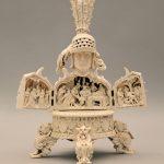 """Резной бюст-складень """"Император Священной Римской империи Максимилиан I"""" Германия, 19 век"""