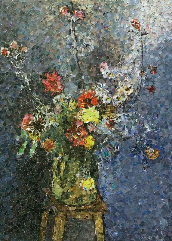 "Вик Мюнис ""Bouquet after Henri Matisse"" 2005"