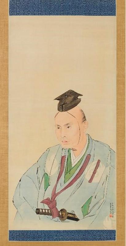 "Ватанабэ Кадзан ""Портрет Таками Сэнсэки"""