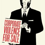 """Шепард Фэйри """"Корпоративное насилие на продажу"""" 2011"""