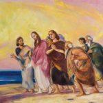 """Святослав Рерих """"Христос с учениками"""" 1934"""