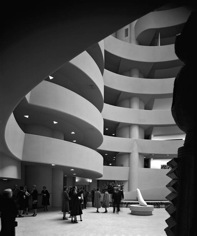 "Эзра Столлер ""Музей Соломона Гуггенхайма"" 1959"