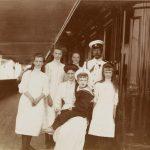 """Неизвестный фотограф """"Императорская семья у кормового салона яхты """"Штандарт"""" 1910"""