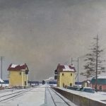 """Георгий Нисский """"Полустанок"""" 1958"""