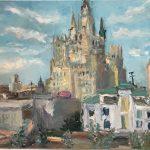 Произведения, созданные на крыше одного из самых знаменитых зданий Москвы.