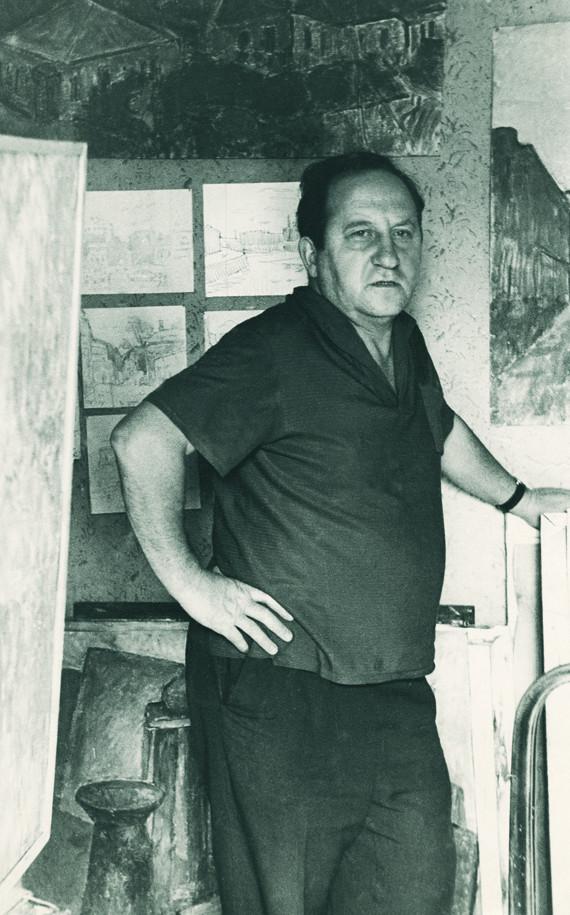 Алексей Айзенман. 1970-е.