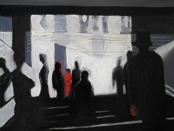 "Выставка ""Метро. Синий"". Галерея ""Измайлово""."