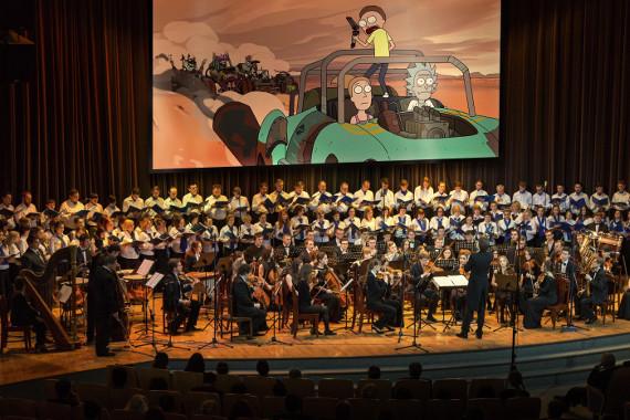 Концерт. Мультимедийный проект «КИНОЗВУК» празднует свой первый юбилей.