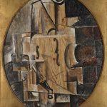 """Пабло Пикассо """"Скрипка"""" 1912"""