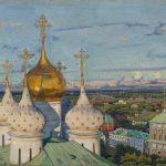 """Константин Юон """"Купола и ласточки"""" 1921"""