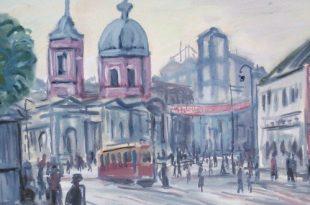 Москва в творчестве художников Группы «13».
