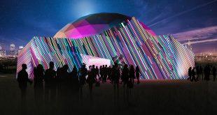 АтмаСфера 360. Сферический мультимедиа зал в театре Стаса Намина в Парке Горького.