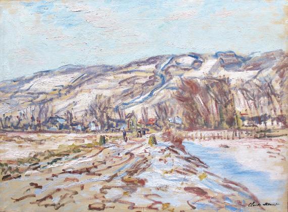 Клод Моне «Зима в Живерни» 1886