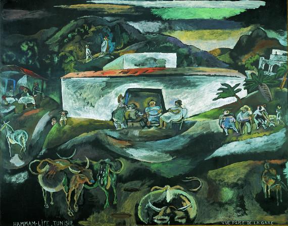 Жюль Паскин «Хаммам в Тунисе» 1924