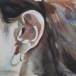 """Владимир Сальников """"Из проекта """"10000 левых женских ушей». Нина Котел"""" 1996"""