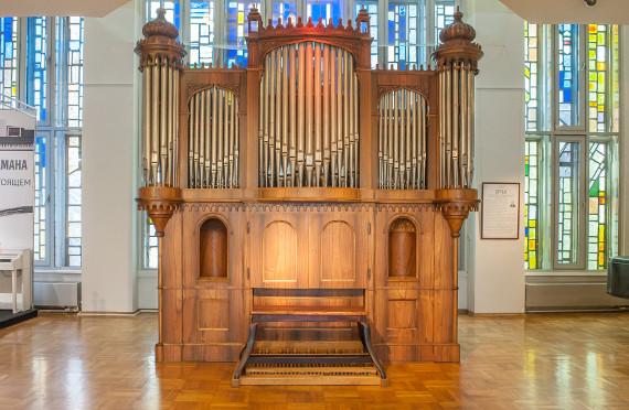 Старейшему в России органу исполняется 150 лет. Праздничный концерт.