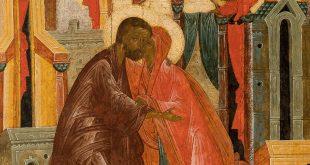 Икона «Встреча праведных Иоакима и Анны у Золотых ворот». Обретение шедевра.