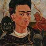 """Фрида Кало """"Автопортрет с обезьянкой"""" 1945"""