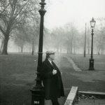 Святослав Рихтер на прогулке в Гайд-парке. Лондон, 1970-е