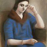 """Пабло Пикассо """"Задумчивая Ольга"""" 1923"""