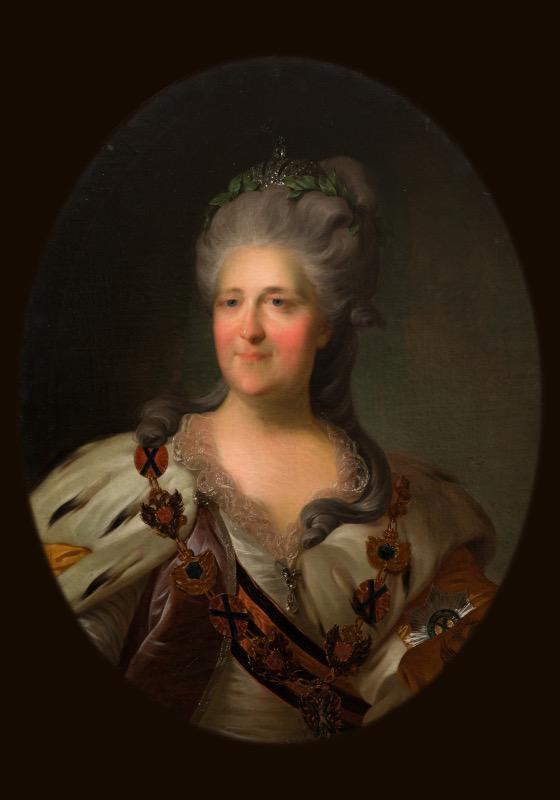 """Рокотов Ф.С. """"Портрет императрицы Екатерины II"""" 1786"""