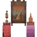 Персональная выставка. Батик. Темперная живопись. Расписная деревянная скульптура.