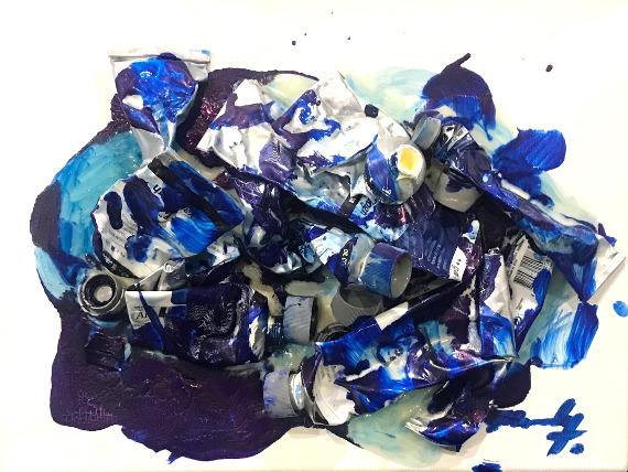Конор Маккриди «Paint Tubes» 2017